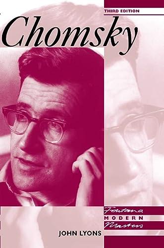 9780006862291: Fontana Modern Masters ? Chomsky