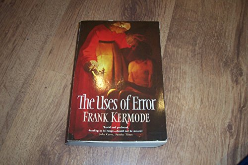 9780006862321: The Uses of Error
