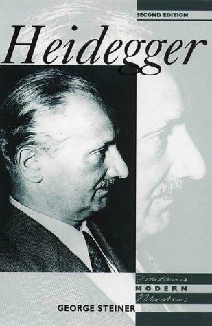 9780006862475: Fontana Modern Masters - Heidegger