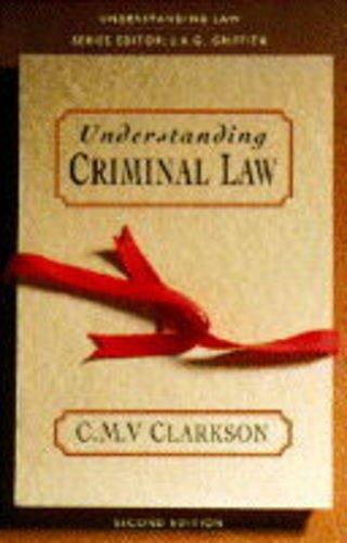 9780006862956: Understanding Criminal Law (Understanding Law)