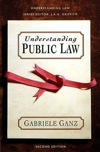 9780006862963: Understanding Law - Understanding Public Law