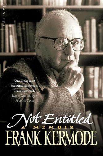 9780006863298: Not Entitled: A Memoir