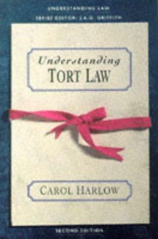 9780006863380: Understanding Tort Law (Understanding Law)