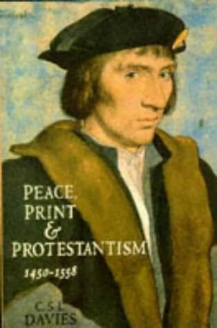 9780006863540: Peace Print and Protestantism 1558