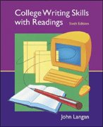 9780006880011: College Writing Skills with Readings: Text & Student CD