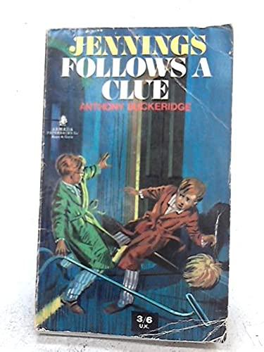 9780006901884: Jennings Follows a Clue (Armada)