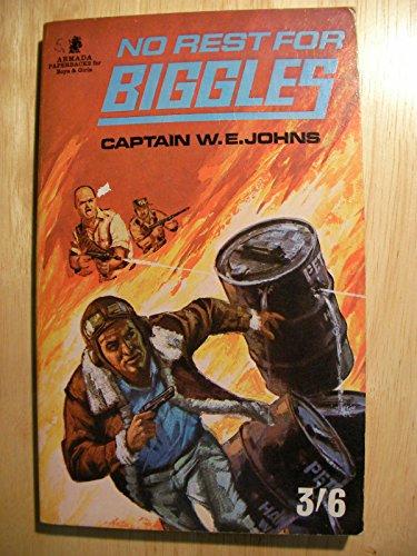 9780006902553: No Rest for Biggles (Armada)