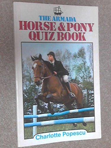 9780006905585: Horse and Pony Quiz Book (Armada S.)