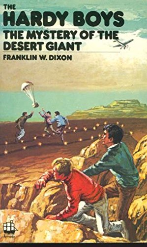 9780006909323: The Mystery of the Desert Giant (Hardy Boys, Book 40)