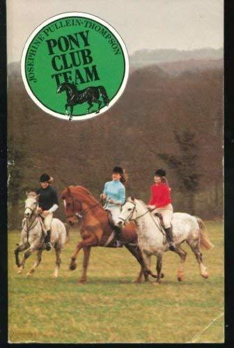 9780006912996: Pony Club team (An Armada pony book)