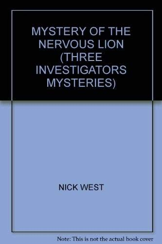 9780006917762: Mystery of the Nervous Lion (Three Investigators Mysteries)