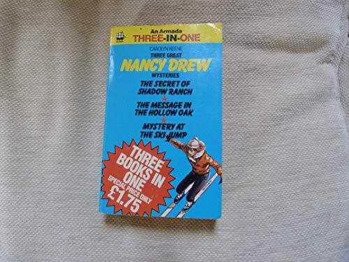 9780006919926: Three Great Nancy Drew Mysteries (An Armada three-in-one)