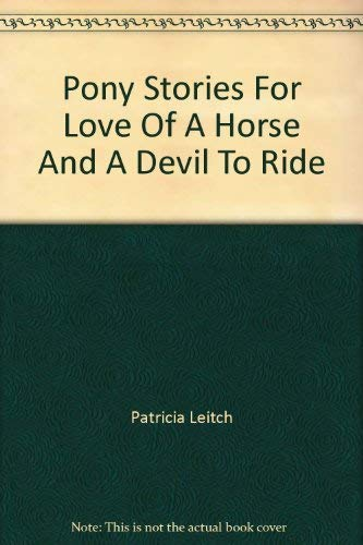 9780006922315: For Love of a Horse (Jinny)