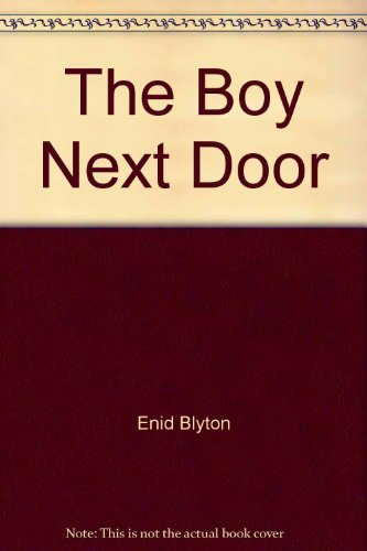 9780006923053: The Boy Next Door