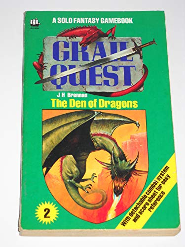9780006923442: Grail Quest Book Two. The Den Of Dragons