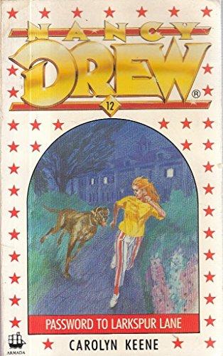9780006923480: The Password to Larkspur Lane (Nancy Drew, Book 10)