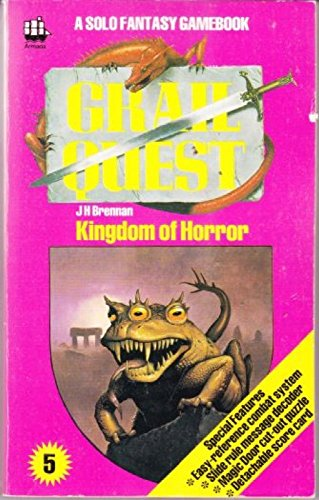 9780006924968: GRAIL QUEST: KINGDOM OF HORROR