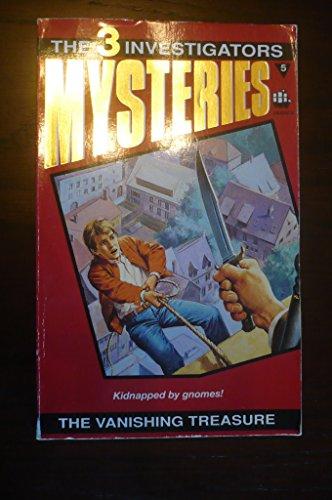 9780006925224: The Vanishing Treasure (Three Investigators Mystery)
