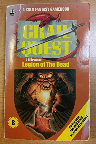9780006926580: Grail Quest: Legion of the Dead Bk. 8 (A Solo fantasy gamebook)