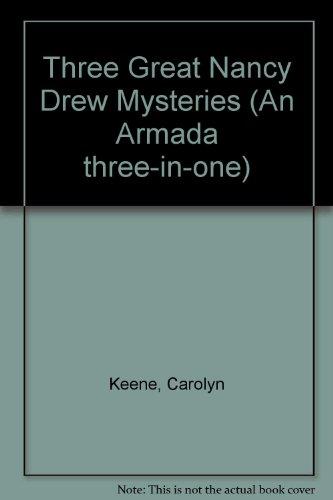 9780006927402: Three Great Nancy Drew Mysteries