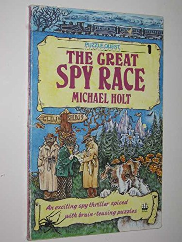 9780006927556: The Great Spy Race (Puzzlequest)