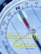 9780006938163: Beginning Algebra- Text Only
