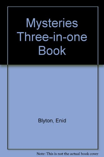 9780006940159: Mysteries Three-in-one Book