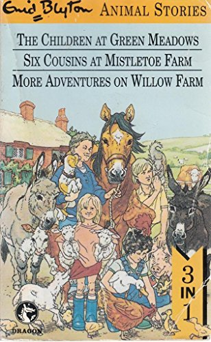 9780006942368: Animal Stories: The Children at Green Meadows, Six Cousins at Mistletoe Farm, and More Adventures on Willow Farm