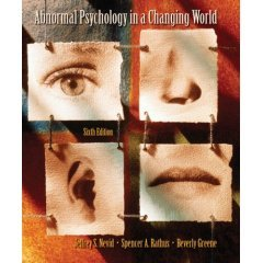 9780006959359: Abnormal Psych. in Changing World- Text Only