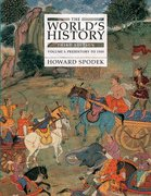 9780007011414: The World's History, Vol. 1: To 1500-Text Only