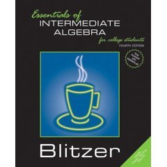 9780007027484: Essentials of Intermediate Algebra for College Students- Text Only
