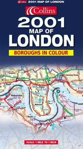 9780007100385: Map of London 2001