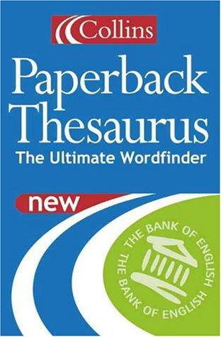 9780007101337: Collins Paperback Thesaurus