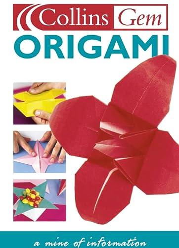 9780007101504: Origami (Collins Gems)