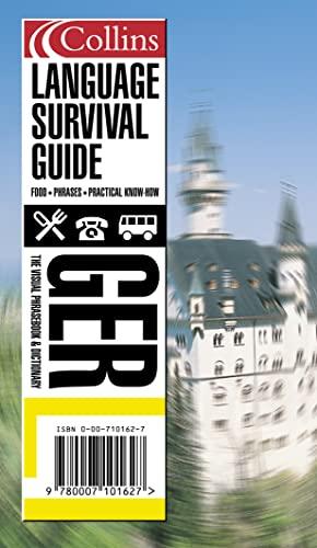 9780007101627: Collins German Language Survival Guide: A Visual Phrasebook and Dictionary (Collins Language Survival Guide)