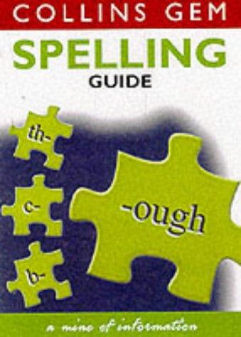 9780007102006: Collins Gem - Spelling Guide