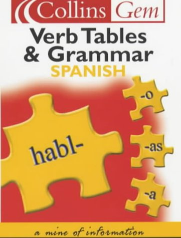 9780007102020: Collins Gem - Spanish Grammar and Verb Tables