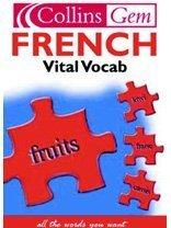9780007102068: Collins Gem - French Vital Vocab