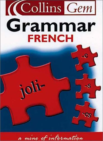9780007102082: Collins Gem - French Grammar