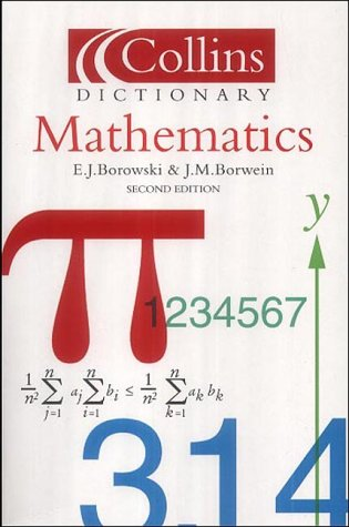9780007102952: Collins Dictionary of - Mathematics