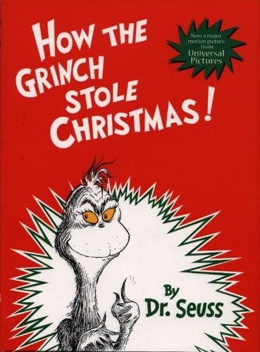 how the grinch stole christmas drseuss classic