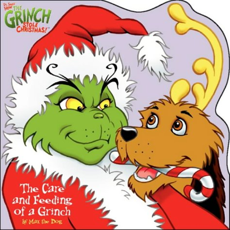 9780007103287: Dr. Seuss' How the Grinch Stole Christmas!(TM) - The Care and Feeding of a Grinch: Shaped story book