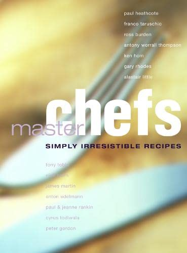 9780007105779: Master Chefs (Cookery)