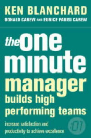 9780007105809: The One Minute Manager Builds High Performing Teams (The One Minute Manager)