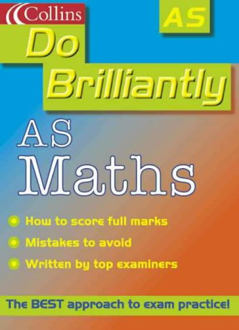 9780007107025: Do Brilliantly At - AS Maths