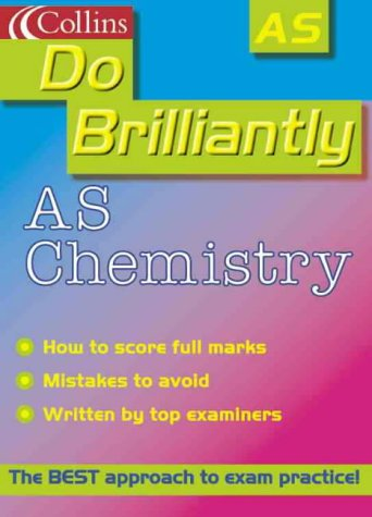 9780007107056: Do Brilliantly At - AS Chemistry