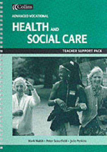 9780007107162: Health and Social Care for Vocational A-level: Teacher's Support Pack