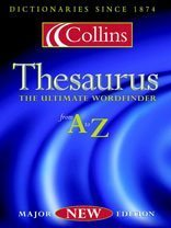 9780007107315: The Collins Thesaurus: Thumb-indexed