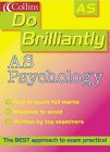 9780007107476: Do Brilliantly At - AS Psychology