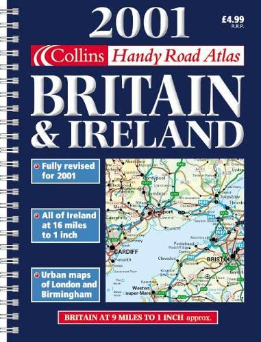 2001 Handy Road Atlas Britain and Ireland: Not Known